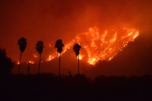 The Wildfire in Ventura and Santa Barbara Counties, Southern California Scorched 234,300 Acres